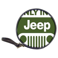 Only In A Jeep Logo Classic 20 Cd Wallets