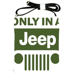 Only In A Jeep Logo Shoulder Sling Bags