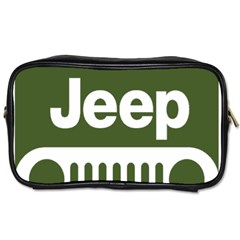 Only In A Jeep Logo Toiletries Bags