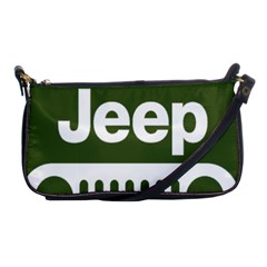 Only In A Jeep Logo Shoulder Clutch Bags