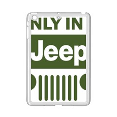 Only In A Jeep Logo Ipad Mini 2 Enamel Coated Cases