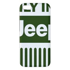 Only In A Jeep Logo Apple Iphone 5 Premium Hardshell Case