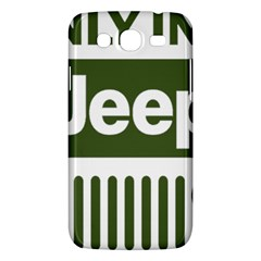 Only In A Jeep Logo Samsung Galaxy Mega 5 8 I9152 Hardshell Case