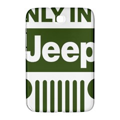 Only In A Jeep Logo Samsung Galaxy Note 8 0 N5100 Hardshell Case