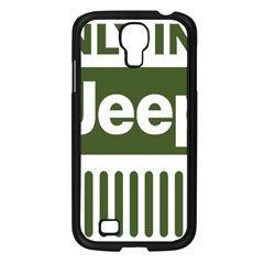 Only In A Jeep Logo Samsung Galaxy S4 I9500/ I9505 Case (black)