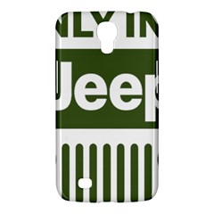 Only In A Jeep Logo Samsung Galaxy Mega 6 3  I9200 Hardshell Case