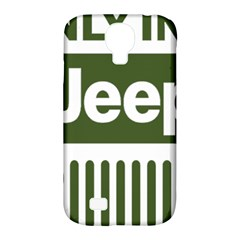 Only In A Jeep Logo Samsung Galaxy S4 Classic Hardshell Case (pc+silicone)