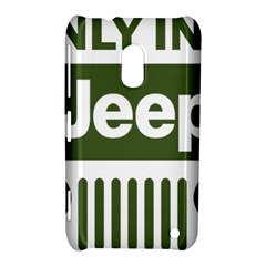 Only In A Jeep Logo Nokia Lumia 620 by Samandel