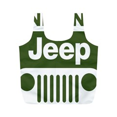 Only In A Jeep Logo Full Print Recycle Bags (m)