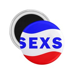 Sexsi Sexy Logo 2 25  Magnets by Samandel