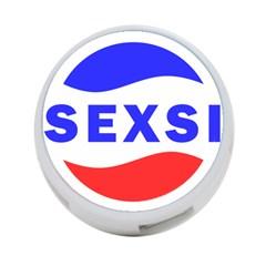 Sexsi Sexy Logo 4 Port Usb Hub (two Sides)