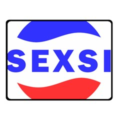 Sexsi Sexy Logo Double Sided Fleece Blanket (small)