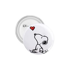 Snoopy Love 1 75  Buttons