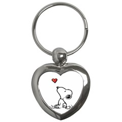 Snoopy Love Key Chains (heart)