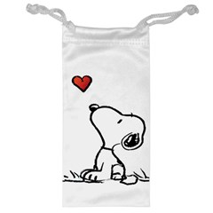 Snoopy Love Jewelry Bag