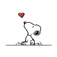 Snoopy Love Plate Mats