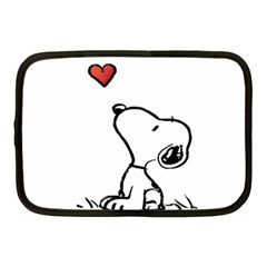 Snoopy Love Netbook Case (medium)