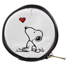 Snoopy Love Mini Makeup Bags