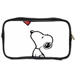 Snoopy Love Toiletries Bags
