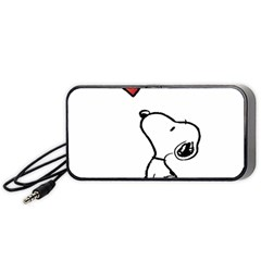 Snoopy Love Portable Speaker