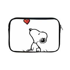 Snoopy Love Apple Ipad Mini Zipper Cases by Samandel