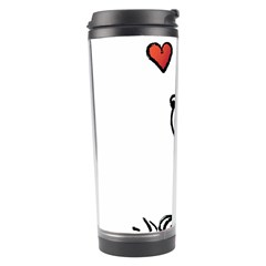 Snoopy Love Travel Tumbler
