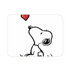 Snoopy Love Double Sided Flano Blanket (mini)