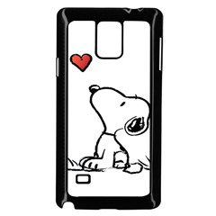 Snoopy Love Samsung Galaxy Note 4 Case (black)