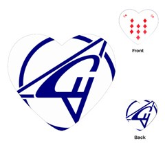 Sukhoi Aircraft Logo Playing Cards (heart)
