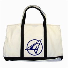 Sukhoi Aircraft Logo Two Tone Tote Bag