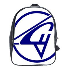 Sukhoi Aircraft Logo School Bag (large)
