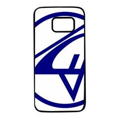 Sukhoi Aircraft Logo Samsung Galaxy S7 Black Seamless Case