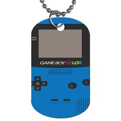 Game Boy Colour Blue Dog Tag (two Sides)