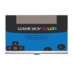 Game Boy Colour Blue Business Card Holders by Samandel