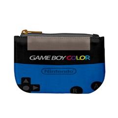 Game Boy Colour Blue Mini Coin Purses