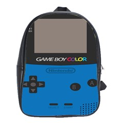 Game Boy Colour Blue School Bag (large)