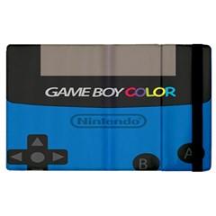 Game Boy Colour Blue Apple Ipad 3/4 Flip Case