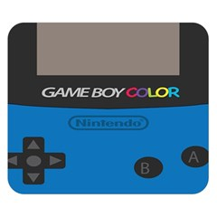 Game Boy Colour Blue Double Sided Flano Blanket (small)