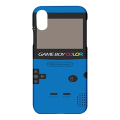 Game Boy Colour Blue Apple Iphone X Hardshell Case
