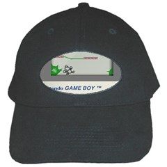 Game Boy White Black Cap