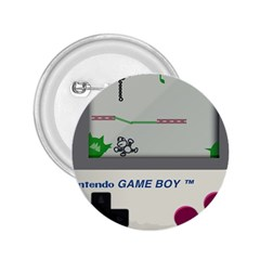 Game Boy White 2 25  Buttons