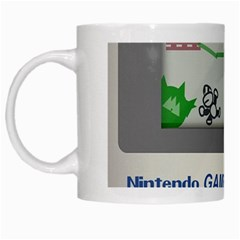 Game Boy White White Mugs