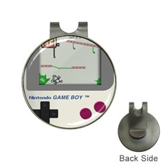 Game Boy White Hat Clips With Golf Markers