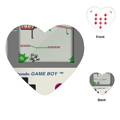 Game Boy White Playing Cards (heart)