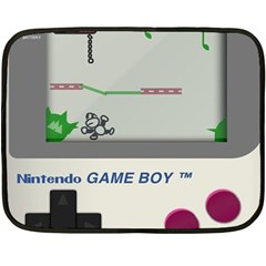 Game Boy White Double Sided Fleece Blanket (mini)