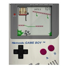 Game Boy White Shower Curtain 60  X 72  (medium)