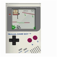 Game Boy White Large Garden Flag (two Sides)