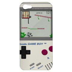 Game Boy White Apple Iphone 5 Hardshell Case