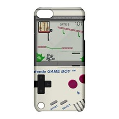 Game Boy White Apple Ipod Touch 5 Hardshell Case With Stand