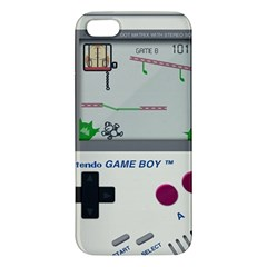 Game Boy White Iphone 5s/ Se Premium Hardshell Case